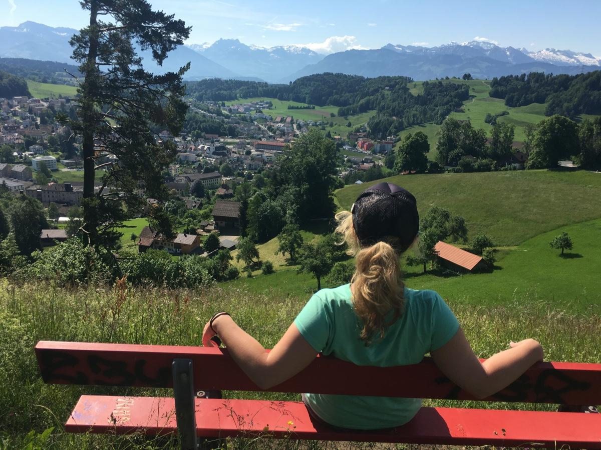 Mein Schwabenweg von Konstanz nach Einsiedeln